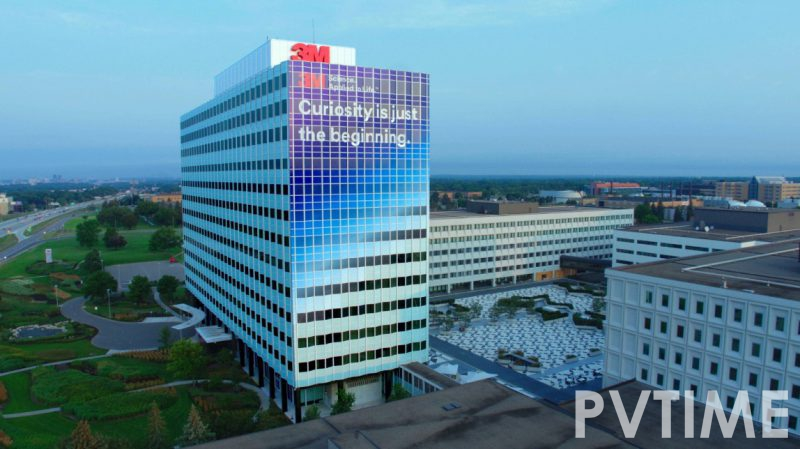 3M Announces 100% Global Renewable Electricity Goal with Headquarters Campus Converting to all Renewables Immediately-PVTIME