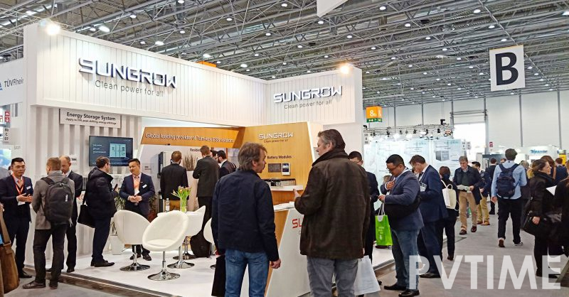 Sungrow Reveals New 1500V Energy Storage Systems at Energy Storage Europe-PVTIME