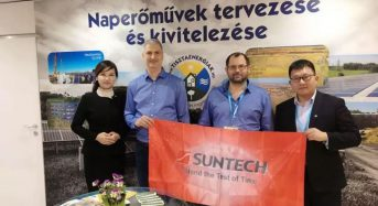 Suntech Strengthens the Partnership with TE to Expand Development in Hungarian PV Market