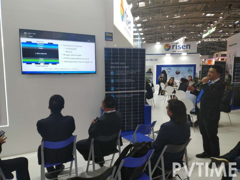 Risen Energy's Newly Researched HDT Technology  Made its Debut in Munich-PVTIME