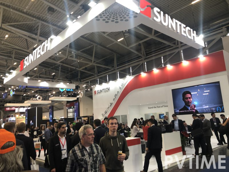 Exhibition News | Suntech showcased at Intersolar Europe 2019-PVTIME