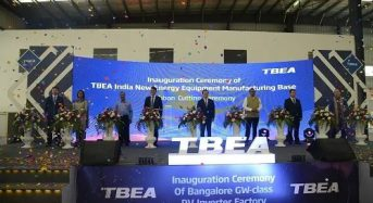 TBEA's 2GW Photovoltaic Inverter Factory in India Put into Operation