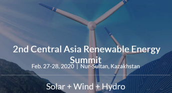 2nd Central Asia Renewable Energy (CARE) Summit Will Take Place in Kazakhstan in February