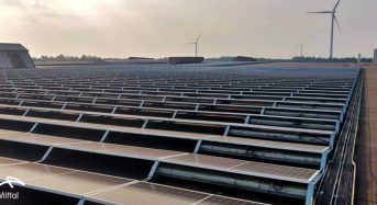 Belgium's Largest Steel Company, Arcelor Mittal Stunning 10 MW Skylight Solar Project Built by Ecorus in Partnership With LONGi