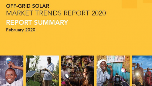 The World Bank: Off-Grid Solar Market Trends Report 2020