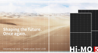 LONGi Wins First Order to Supply 103 MW of HI-MO 5 Modules for TBEA's Energy Production Base in Xinjiang