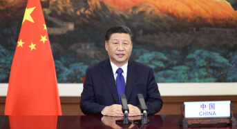 Xi: China to lower carbon dioxide emissions per unit of GDP by over 65 pct from 2005 level by 2030