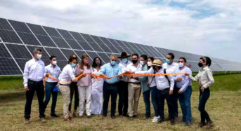 Colombian President Officially Opens Trina Solar Plant
