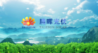 Talesun Signs Investment Framework Agreement for a 5GW PV Cell + 5GW PV Module Project in Jiangsu Province