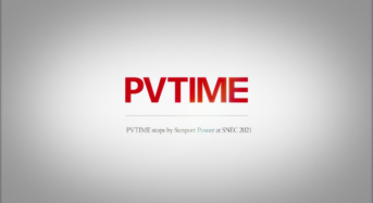PVTIME Visits Sunport Power at SNEC 2021