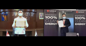 Sunseap Signs MOU With BP Batam to Build World's Largest Floating Solar Farm and Energy Storage System