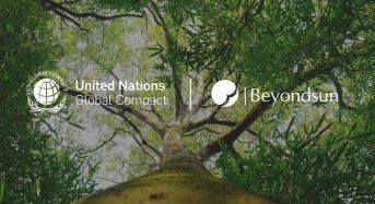 Beyondsun officially joined the United Nations Global Compact