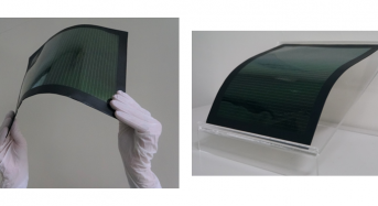 Toshiba's Large Area Polymer Film-Based Photovoltaic Perovskite Module Achieves Record Energy Conversion Efficiency of 15.1%