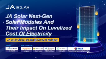 Webinar: Next-Gen Solar Modules and Their Impact on Levelized Cost of Electricity